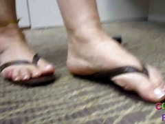 foot, mature, matures, foot fetish, close-up