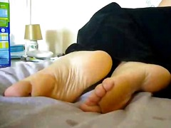 close-up, mature, foot fetish,