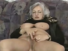 mature, close-up, matures, grannies, masturbation, granny