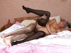 creampie, stocking, mature,