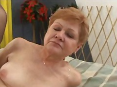 stockings, creampie, grannies,