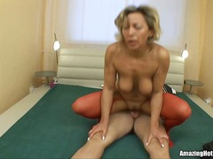 Mature getting fucked and waiting for...