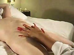 Terrific mature handjob - magic hands...