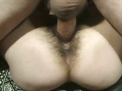 Hairy Mature Ugly Chick Fucks Guy Cum...