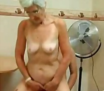 mature, hairy, facial, granny,