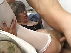 Granny loves multiple cocks