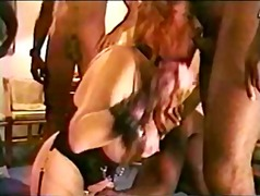 Mature Redhead's Black Cock Party Pt-1