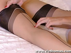 pantyhose, blonde, lesbian, shaved,