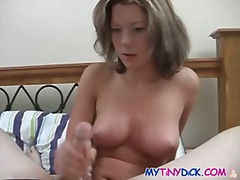 Wild milf gives awesome titjob