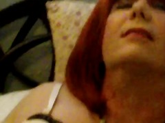 mature, crossdresser, homemade,