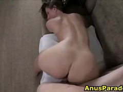 Big assed whore rides ... video