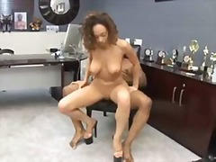 reality, big tits, ebony, riding, hardcore, office