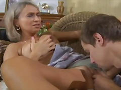 Mom Ninette fuck young... video