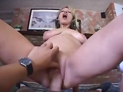 Mature rides your cock...