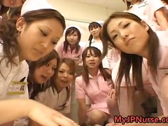 japanese, fetish, group sex, nurse