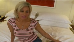 mature blonde milf get... video