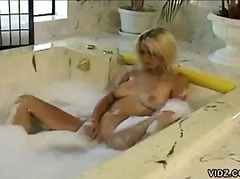 PornerBros - Busty blonde masturbat...