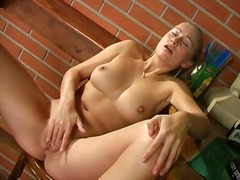 PornerBros Movie:Cute blonde gets horny and goe...