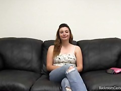first, couch, audition, amateur backroom