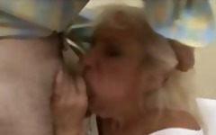 Gold Teeth Blonde Mature Fucked