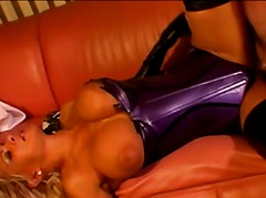Latex chick dick ridin... - Redtube