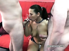 group, oral, amateur, mature, swingers, milf, brunette, blowjob, homemade, wife, threesome