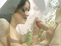 Nuvid Movie:Dark-haired slutty chick milks...