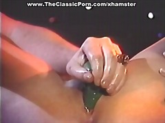 Moist pussy toy and ro... video