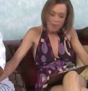 Nuvid Movie:Slutty skinny MILF gets a tast...