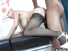 katie kox, big tits, blonde