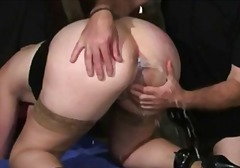 Bondage Milk Enema