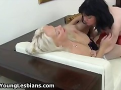 Tube8 - Two horny mature wifes...