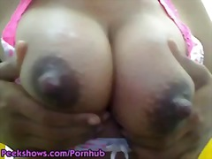 milf, solo, brunette, mom, big-boobs,