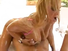 blowjob, swallow, blonde, caucasian, pornstar, big tits, couple