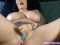 rubbing, babes, large-breasts