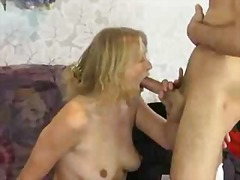 cumshot, sex, brunette, stockings, granny