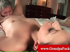 Missy stone gets an oral by old man