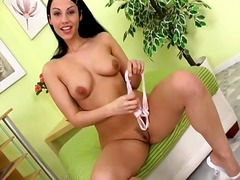 posing, shaved pussy, dildo, beauty