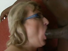 Hot Granny Fucked by B...