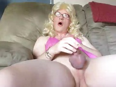 masturbation, mature, crossdresser
