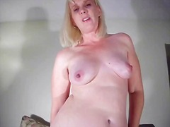 mature, ass, nipples, mom, blonde