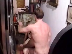hairy, anal, orgy, foursome, big cock