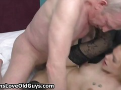 hardcore, old man, blonde, old young, nylon, mature, anal, bizarre