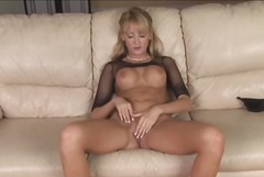 pussy, blonde, tits, solo, hot, milf