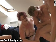 group sex, mature, old young, gangbang