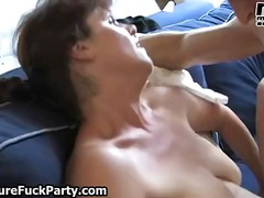 housewife, bizarre, group sex,