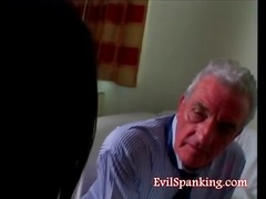 Old spanking young video
