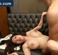 Chinese boobs lassie diving for pearls