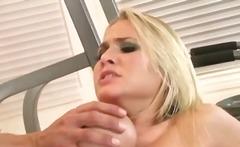 hardcore, high heels, blonde, big tits, riding, big ass, shaved
