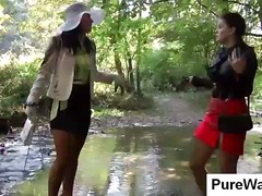 Nuvid Movie:Out taking a stroll in nature ...